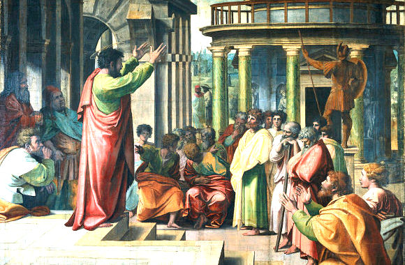 Paul à Athènes