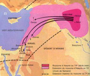 La destruction du Royaume d'Israël - Diocèse de Cayenne